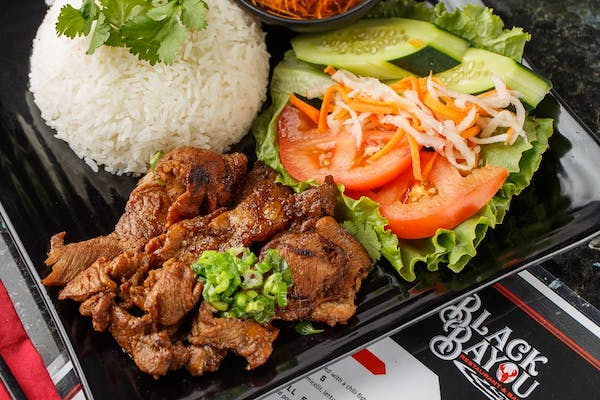 Char - Grilled Pork with Rice