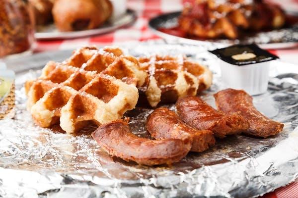 Sausage N' Waffles