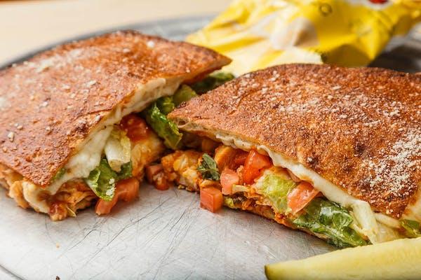 Buffalo Chicken Toaster Sandwich