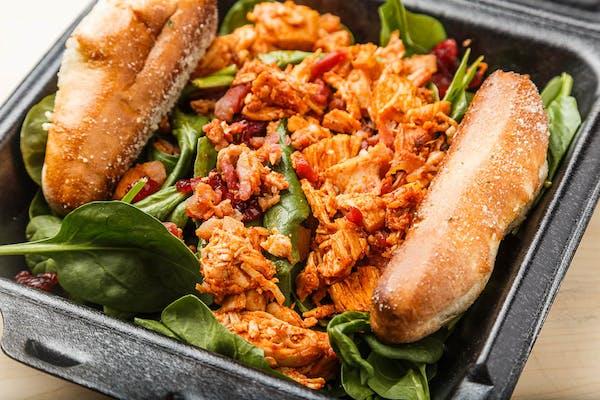 Bacon & Chicken Spinach Salad