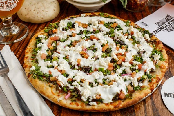 Gyro Signature Pizza