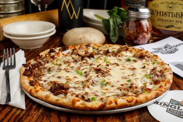 Philly Cheesesteak Signature Pizza
