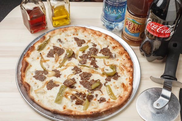 Philly Cheese Steak Classic Pizza Coca-Cola Combo