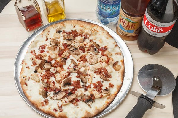 Chicken Carbonara Classic Pizza Coca-Cola Combo