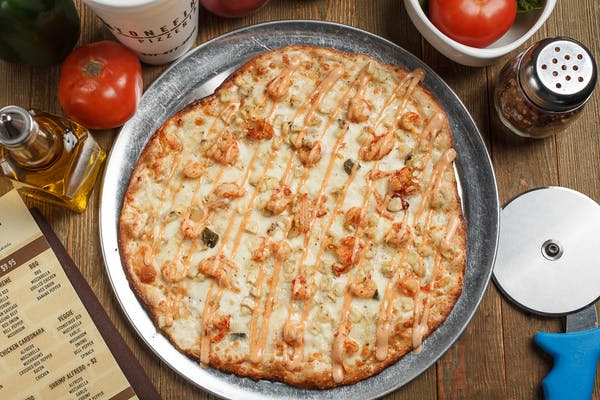 Crawfish Boil Pizza