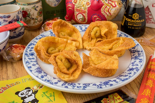 2. Crab Rangoon