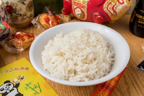 4. Steamed rice