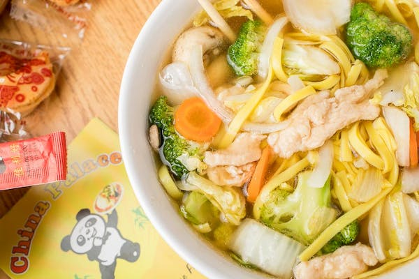 5. Chicken Lo Mein Soup