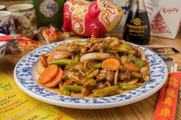 8. Mongolian Beef