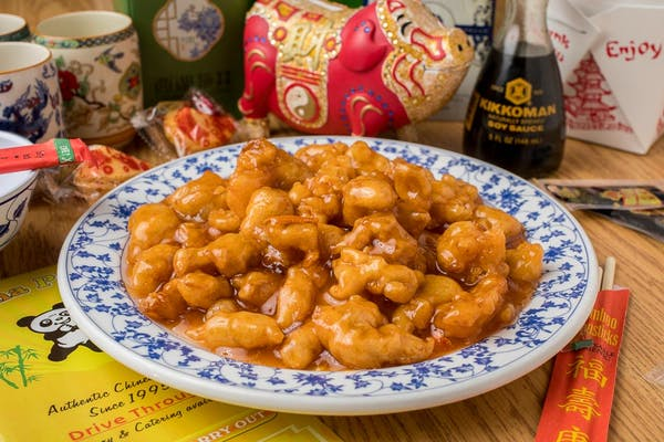 32. Orange Chicken