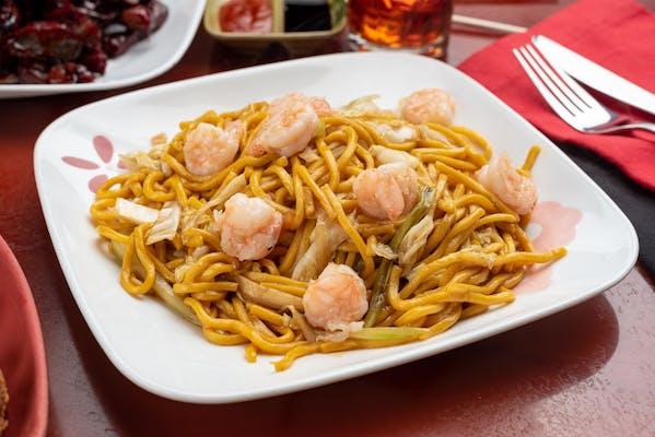 36. Beef or Shrimp Lo Mein