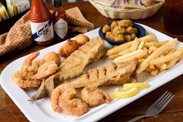 Catfish & Jumbo Shrimp Combo