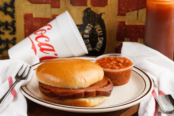 5. BBQ Bologna Sandwich, Chip & Drink Combo