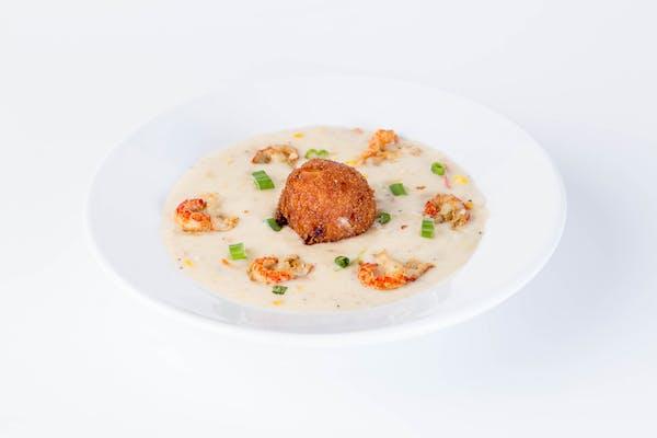 Crawfish Corn Chowder
