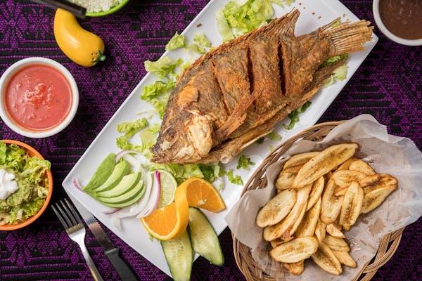 Mojarra Frita mexicana