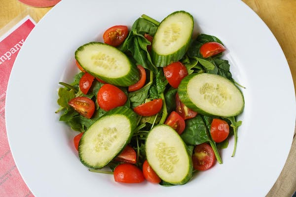 House Salad with Sangria Tomatoes