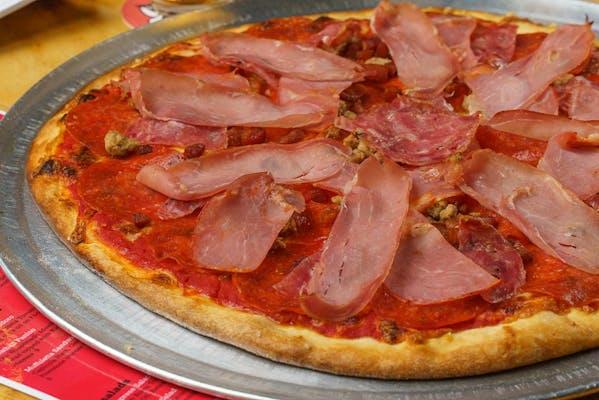 Carnivore Pizza Slice