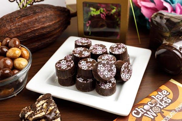 (½ lb.) Dark Chocolate Raspberry Truffles
