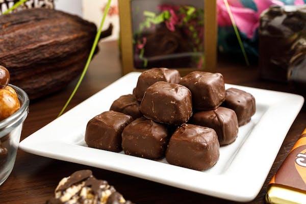 (½ lb.) Sugar-Free Milk Chocolate Caramels