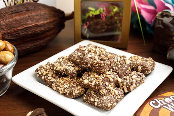 (½ lb.) Sugar-Free Milk Chocolate Toffee Squares