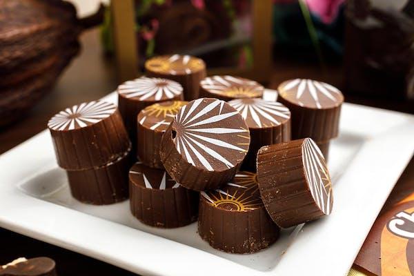 (½ lb.) Milk Chocolate Amaretto Truffles