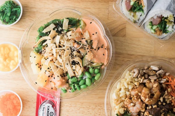 Three-Scoop Poke Bowl