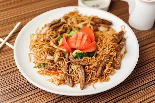 K6. Yaki Soba or Yaki Udon Noodles
