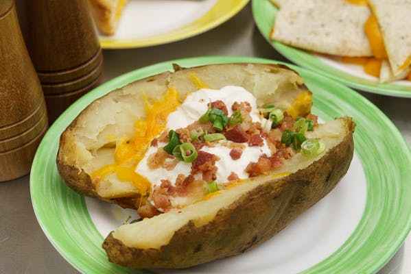 Fully Loaded baked Potato