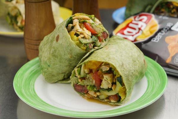 Bangkok Chicken Wrap