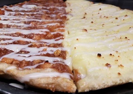(½) Apple & (½) Bavarian Dessert Pizza