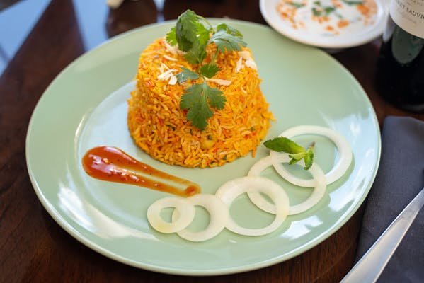 Goat Biryani with Raita