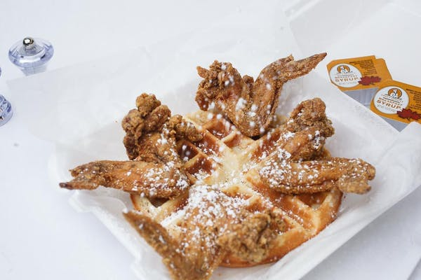 Wings & Waffle Plate
