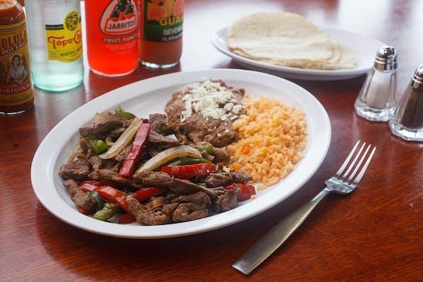 Chicken or Steak Fajita