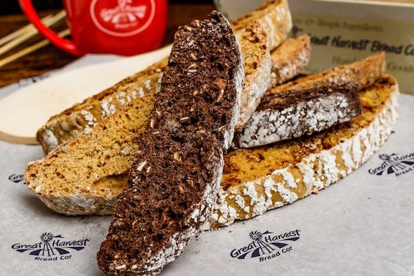 Cafe' Mocha Biscotti