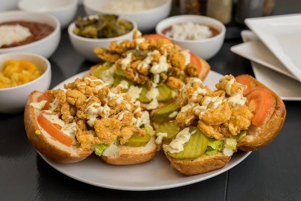 Grilled Shrimp Po-Boy