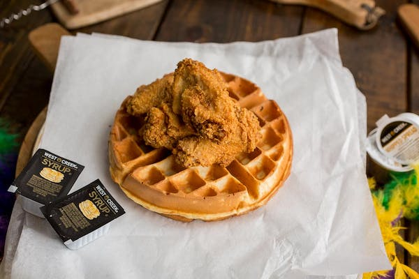 Chicken and Belgian Waffle (4)