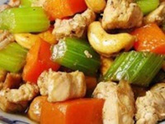 C7. Chicken with Cashew Nuts