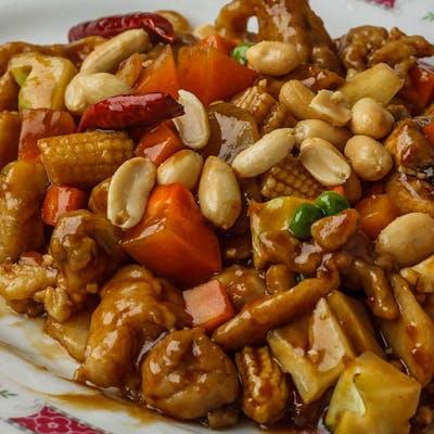 D3. Kung Bo Chicken (Dinner)