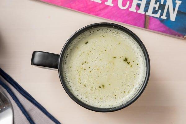 Green Matcha Coconut Latte