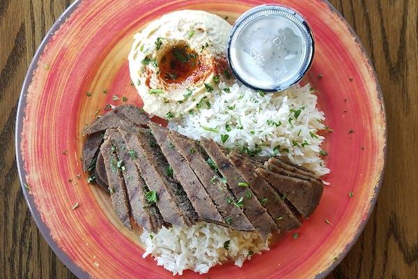 Beef & Lamb Gyro Platter