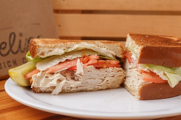 Turkey Swiss Melt Sandwich