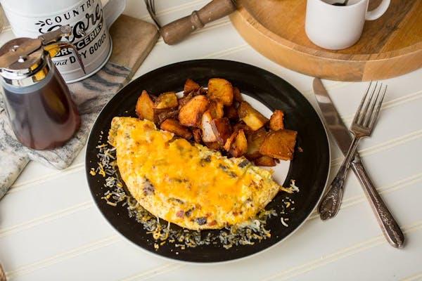 Meaty Omelette
