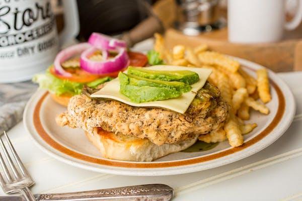 Tex-Mex Bird Sandwich