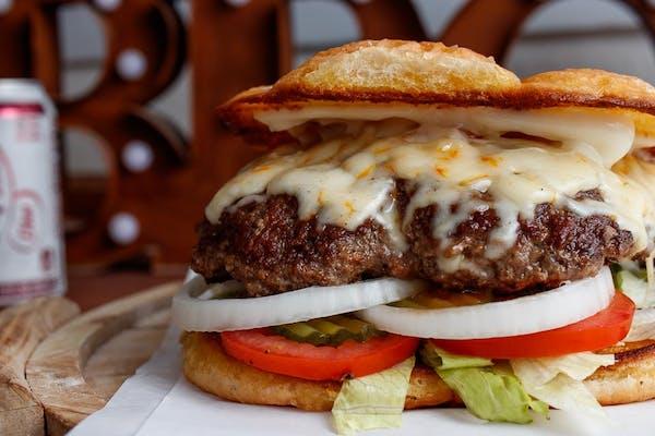 (1 lb.) Monster Cheeseburger