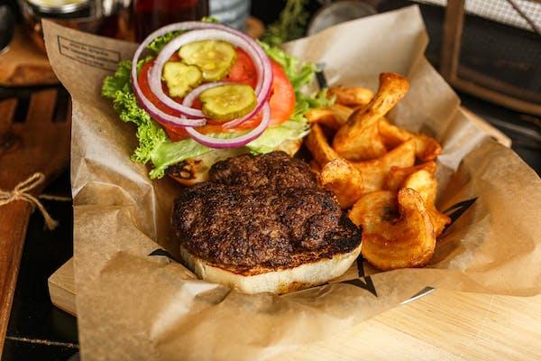 Traditional Cowboy Burger