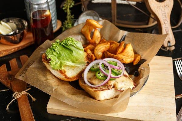 Southwest Chicken Sandwich & Fries