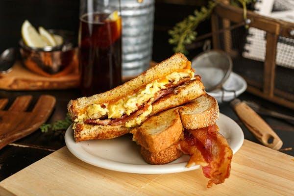 Breakfast Egg Sandwich & Home Fries