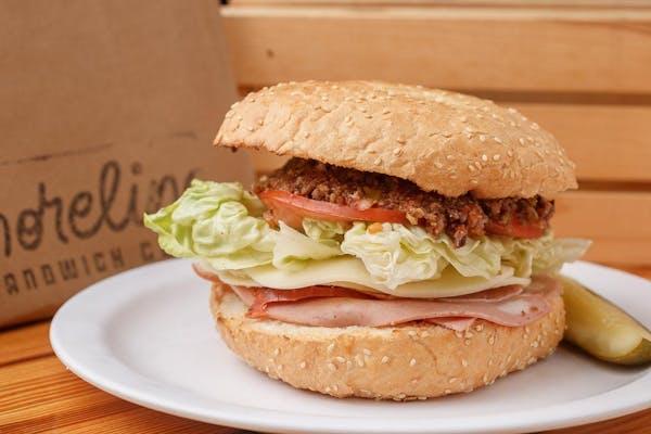 Jon B's Muffuletta Sandwich