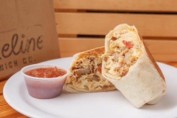Turkey Hash Burrito
