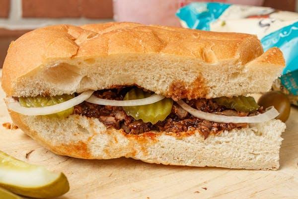 Cajun BBQ Roast Beef Subs
